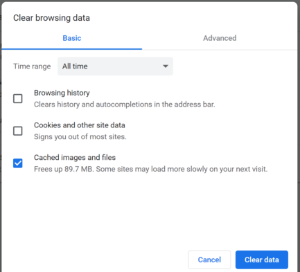 Wisenet-how to troubleshoot browser compatibility issues-chrome